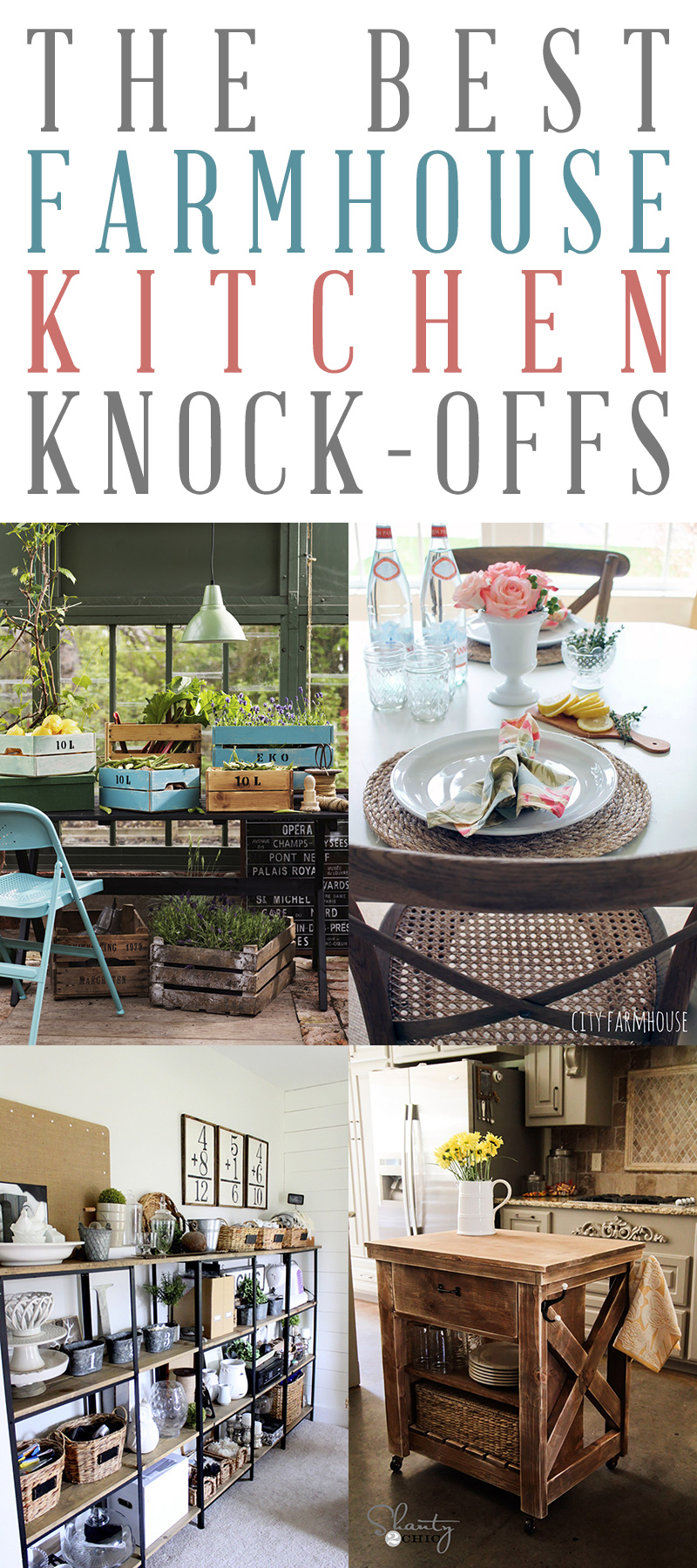 The Best Farmhouse Kitchen Pottery Barn Knock-Offs