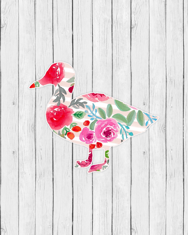 Free Printable Farm Animal Floral Wall Art - The Cottage Market