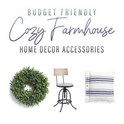 Budget Friendly Cozy Farmhouse Home Decor Accessories