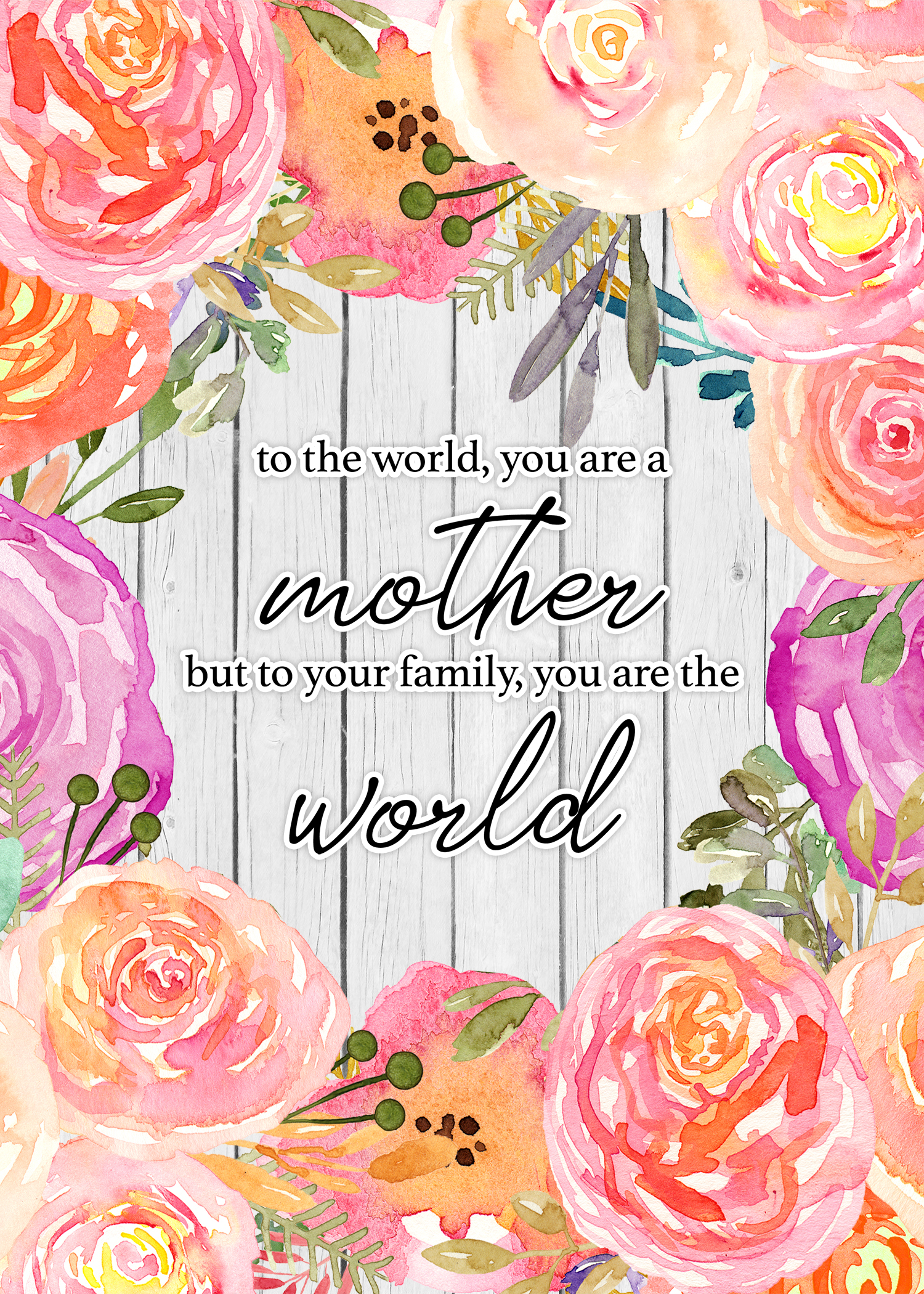 image regarding Printable Mothers Day Quotes known as Fantastic Totally free Printable Moms Working day Inspirational Estimate