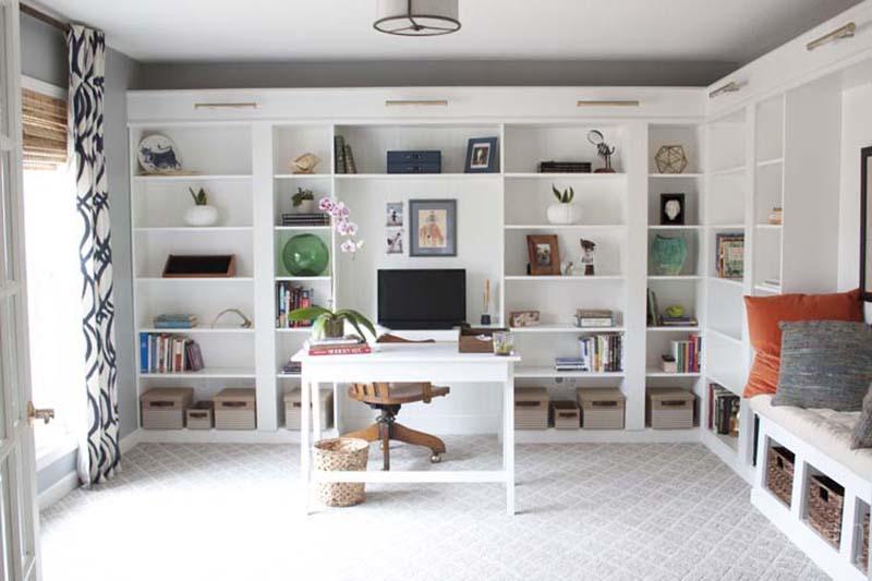 Billy Bookcase Desk: Brilliant IKEA Billy Bookcase Hacks