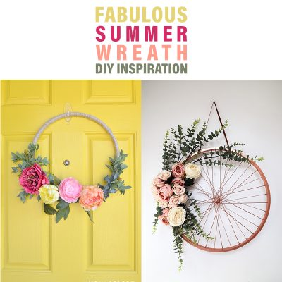 Fabulous Summer Wreath DIY Inspiration
