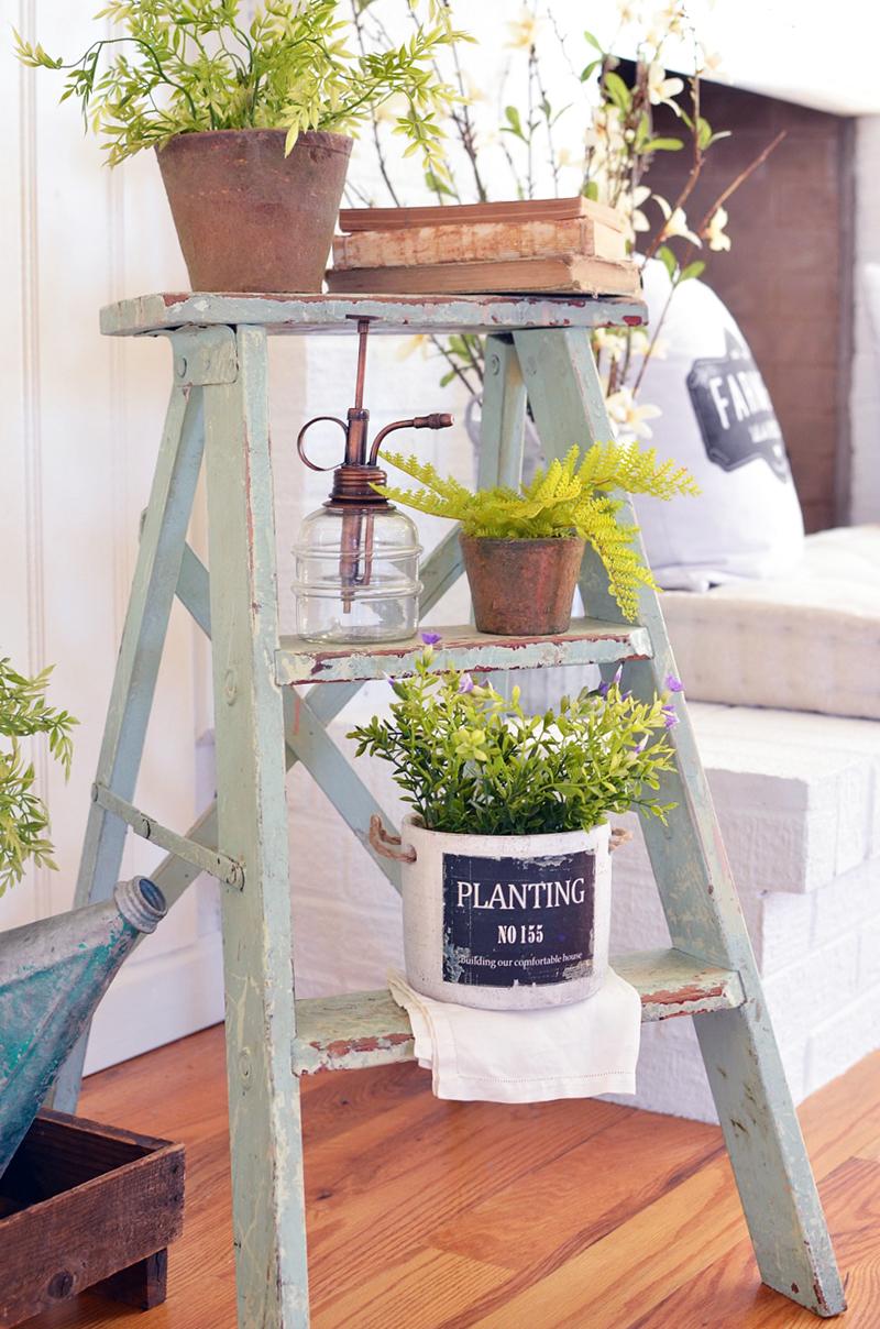 Fabulous Farmhouse Ladder Diys And Ideas The Cottage Market