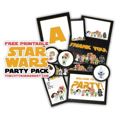 Free Printable Star Wars Party Pack