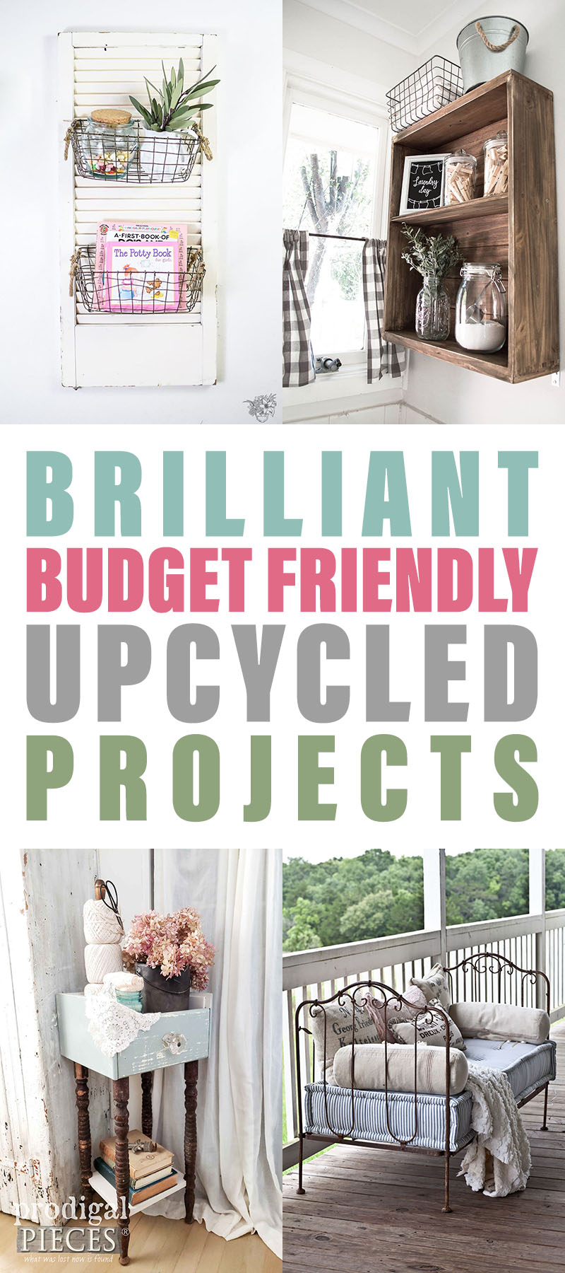 Brilliant Budget Friendly Upcycled Projects