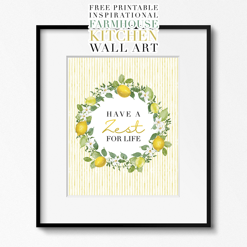 Printable Freebie Gallery Wall Art Calendars Lists