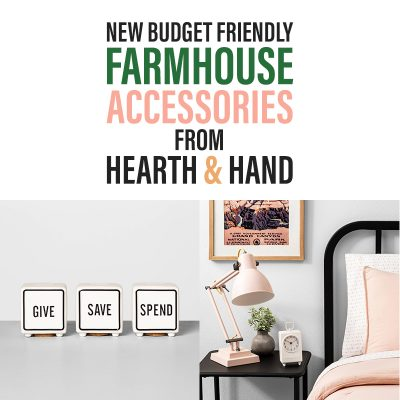 New Budget Friendly Farmhouse Accessories From Hearth and Hand