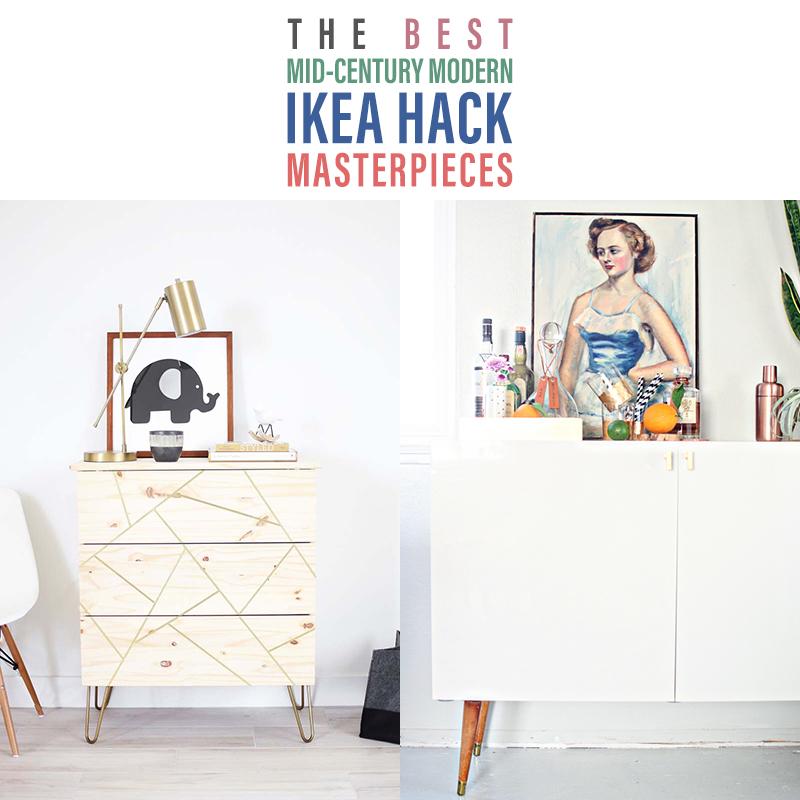 37 Stunning Mid Century Modern IKEA Hacks | The Cottage Market