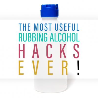 The Most Useful Rubbing Alcohol Hacks Ever