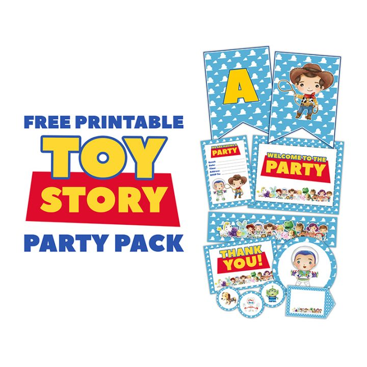 Free Printable Toy Story Party Pack - The Cottage Market