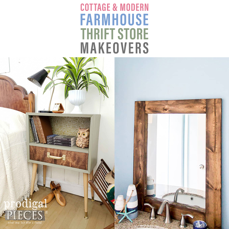 Imaginative and Inspiring Farmhouse Thrift Store Makeovers are going to Inspired you to create your own original diy project that will be amazing!
