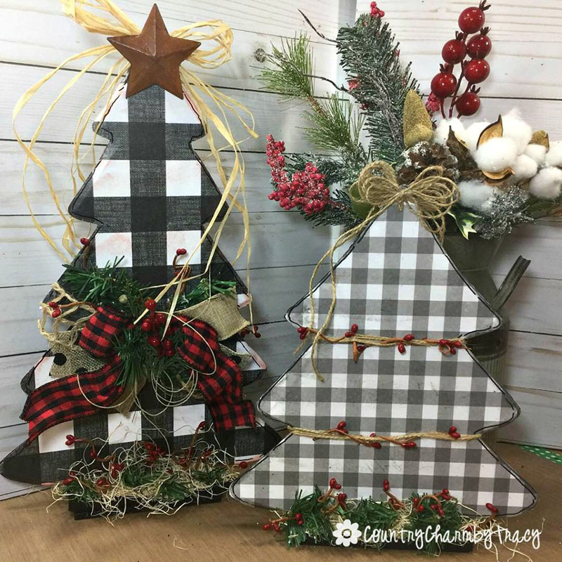 Christmas Tree Decorations For 2019: The Best DIY Farmhouse Dollar Store Christmas Hacks Ever