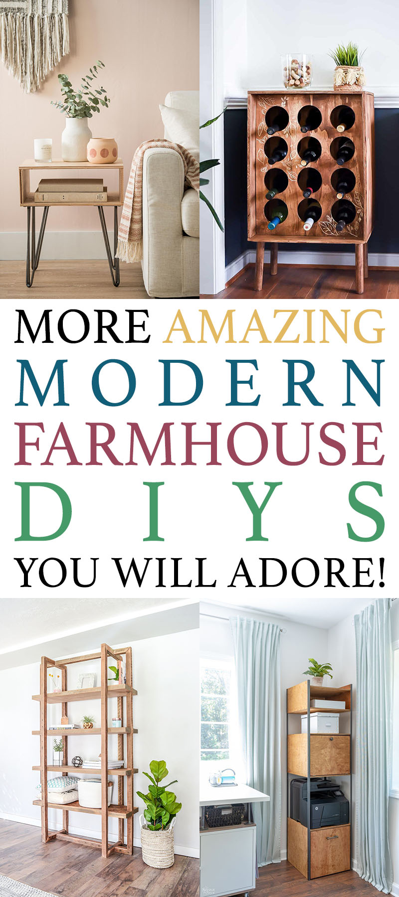 More Amazing Modern Farmhouse DIYS You Will Adore