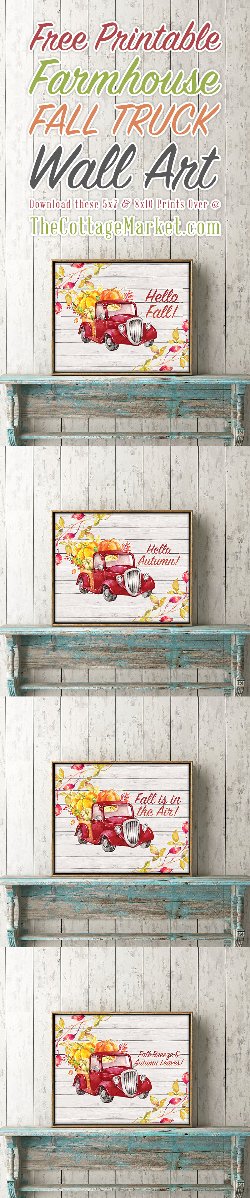 The Best Free Printable Farmhouse Wall Art Prints - The Cottage Market