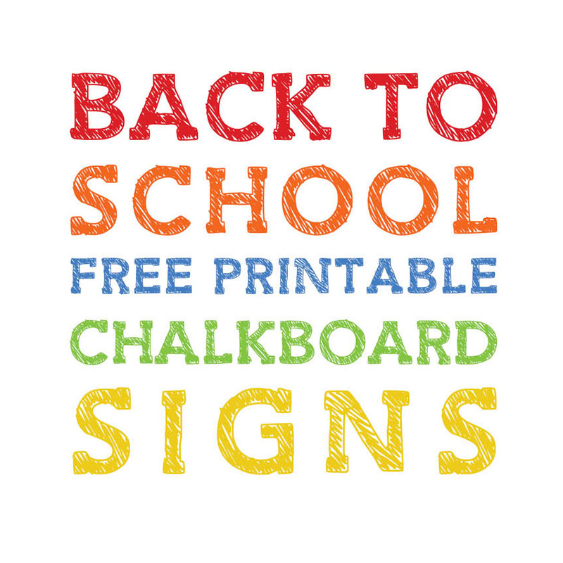 photograph regarding First Day of Pre K Sign Printable identify Back again in direction of College Totally free Printable Chalkboard Indicators - The Cottage