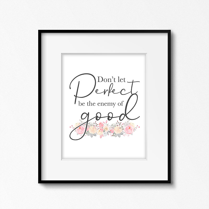 A Free Printable Inspirational Quote is just what this day called for... don't you think! This Quote is truly one to use in your life every day!