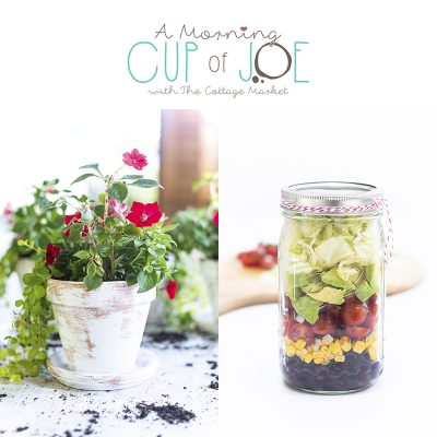 A Morning Cup of Joe /// Linky Party with DIY Features!