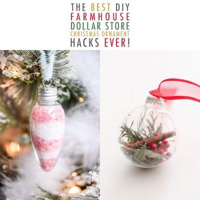 The Best DIY Dollar Store Christmas Ornament Hacks EVER!