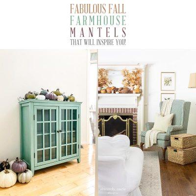 Fabulous Fall Farmhouse Mantels That Will Inspire You!