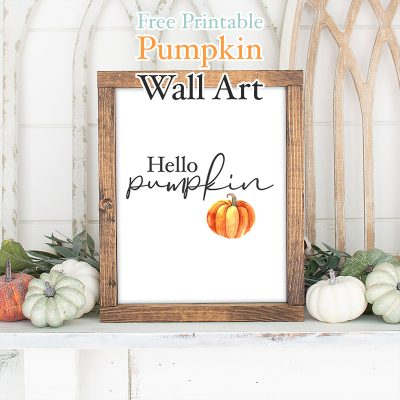 Free Printable Pumpkin Wall Art