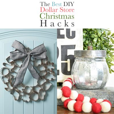 The Best DIY Dollar Store Christmas Hacks