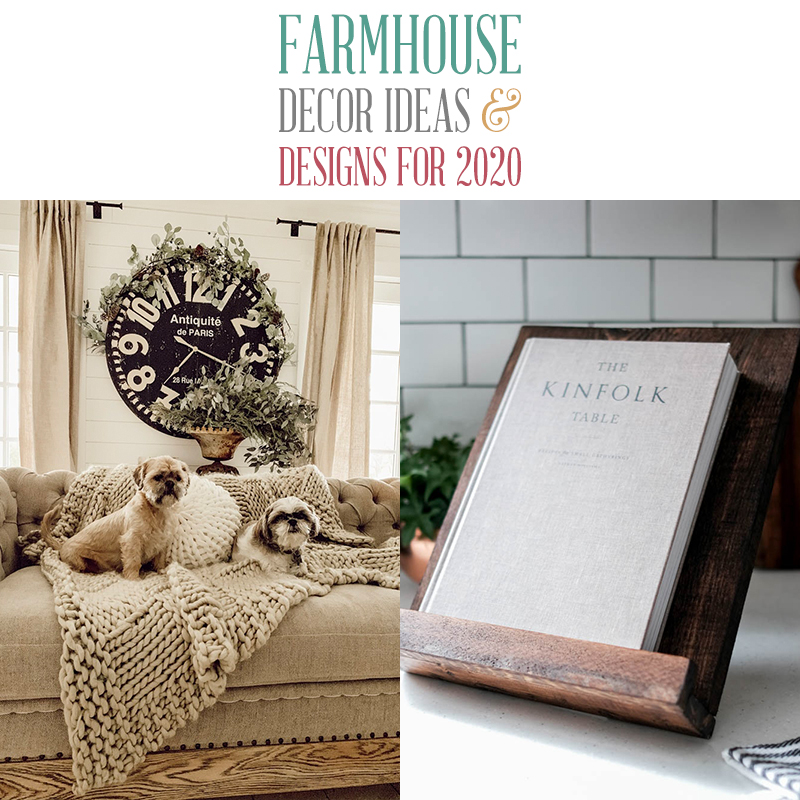 Farmhouse Decor Ideas and Designs for 2020 - The Cottage Market