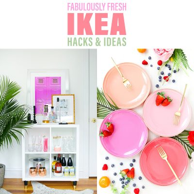 Fabulously Fresh IKEA Hacks and Ideas