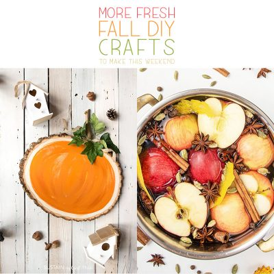 More Fresh Fall DIY Crafts To Make This Weekend!