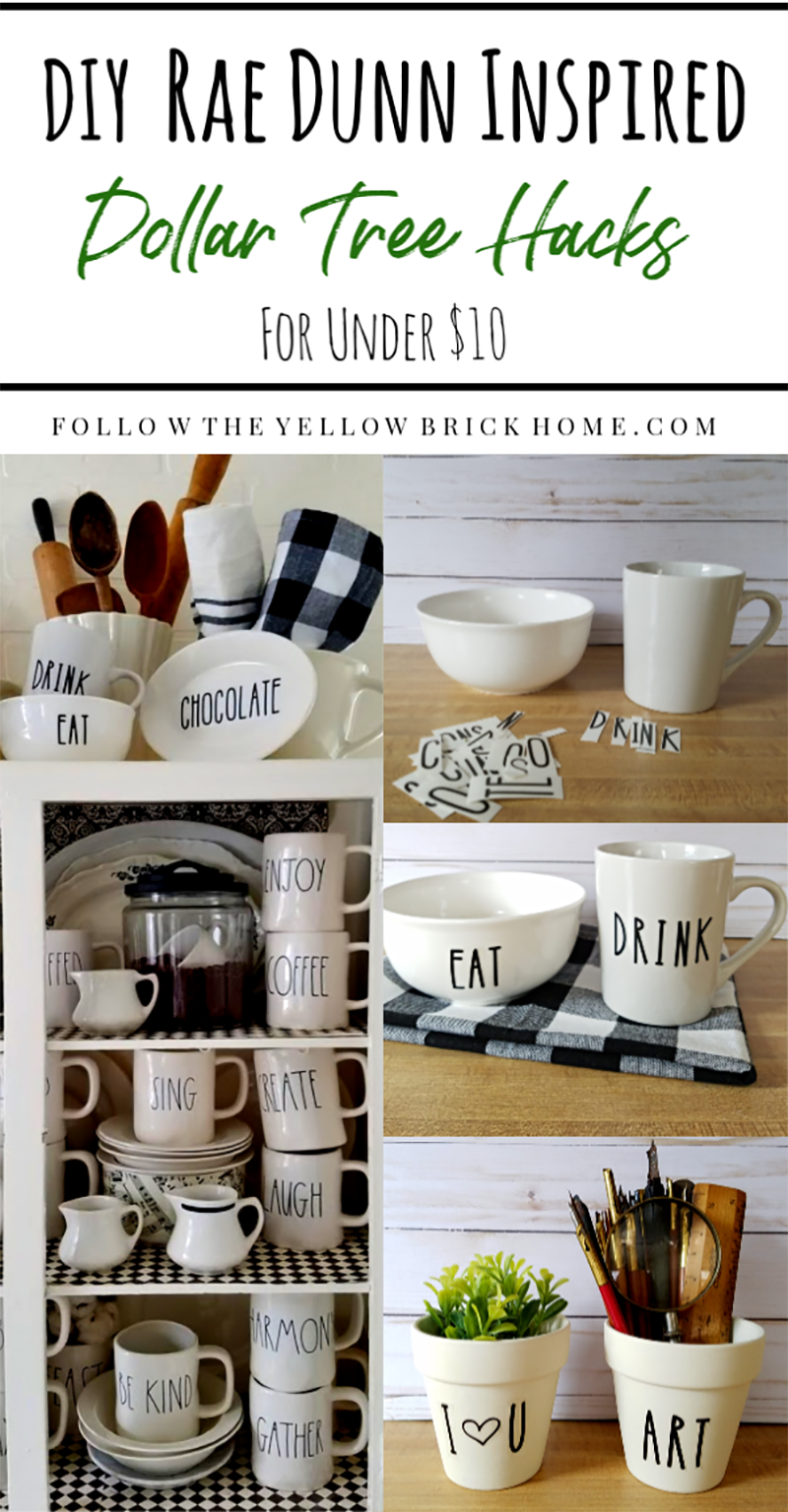 Time to check out a collection of Quick and Easy Modern Farmhouse Dollar Store Hacks that will add the right amount of style and panache to your Farmhouse