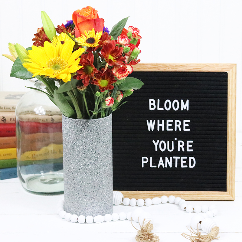 Time for another Quick and Easy DIY... Hope you enjoy our Modern Farmhouse Dollar Store DIY Vase Hack. It could not be easier and has a high end look you will love.