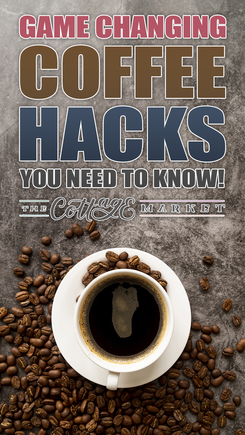These are Game Changing Coffee Hacks You Need To Know if you love Coffee! You will enjoy the innovative Coffee hacks, ideas, tips and tricks!