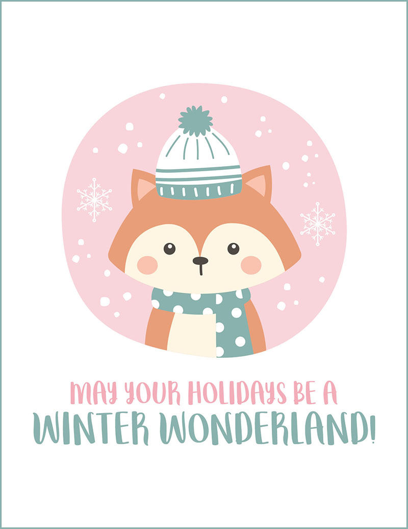 Come and enjoy this Fabulous Free Printable Christmas & Holiday Cards. They are adorable we know you will find the perfect one! These Free Printable Christmas Cards are Too Cute!