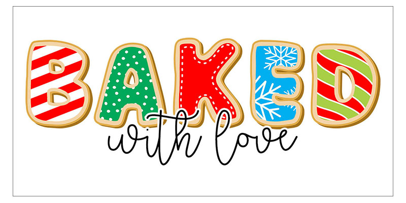 Free Printable Baked with Love Gift Tags is what is on the Free Printable Menu today at The Cottage Market. You are going to use them on all your Sweet Treats!