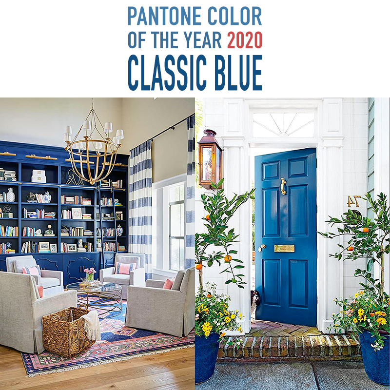 Pantone Color Of The Year 2020 Classic Blue The Cottage Market