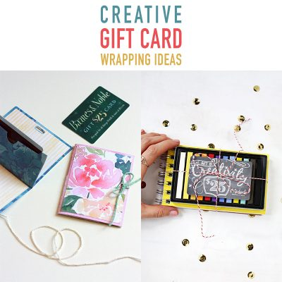 Creative Gift Card Wrapping Ideas