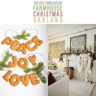 The Most Fabulous DIY Farmhouse Christmas Garlands