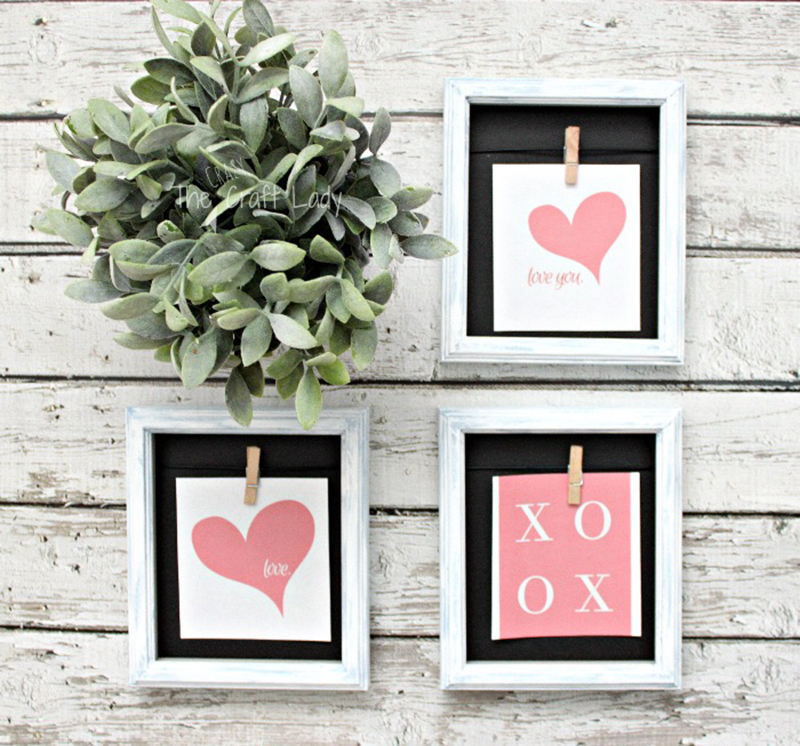Dollar Store Valentine's Day Hacks are waiting for you so you can share the love! Quick, easy and budget friendly Home Decor crafts to make Valentine's Day a touch sweeter!