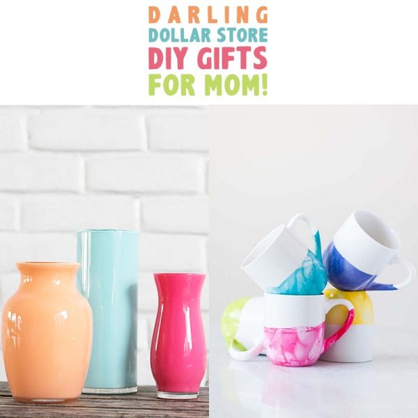 If you are looking for some fun... festive...very budget friendly gifts for Mom that she will actually love, use and treasure… check out this huge selection Dollare Store DIY Gifts. From Mugs to Magnets… there is something she will adore. All of the projects are quick and easy and turn out adorable.