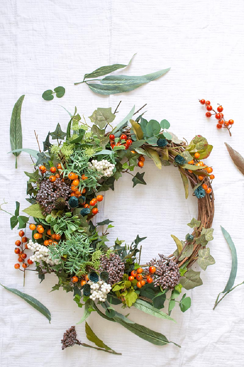 40 Fabulous Farmhouse Fall Wreath Diy Projects The Cottage Market