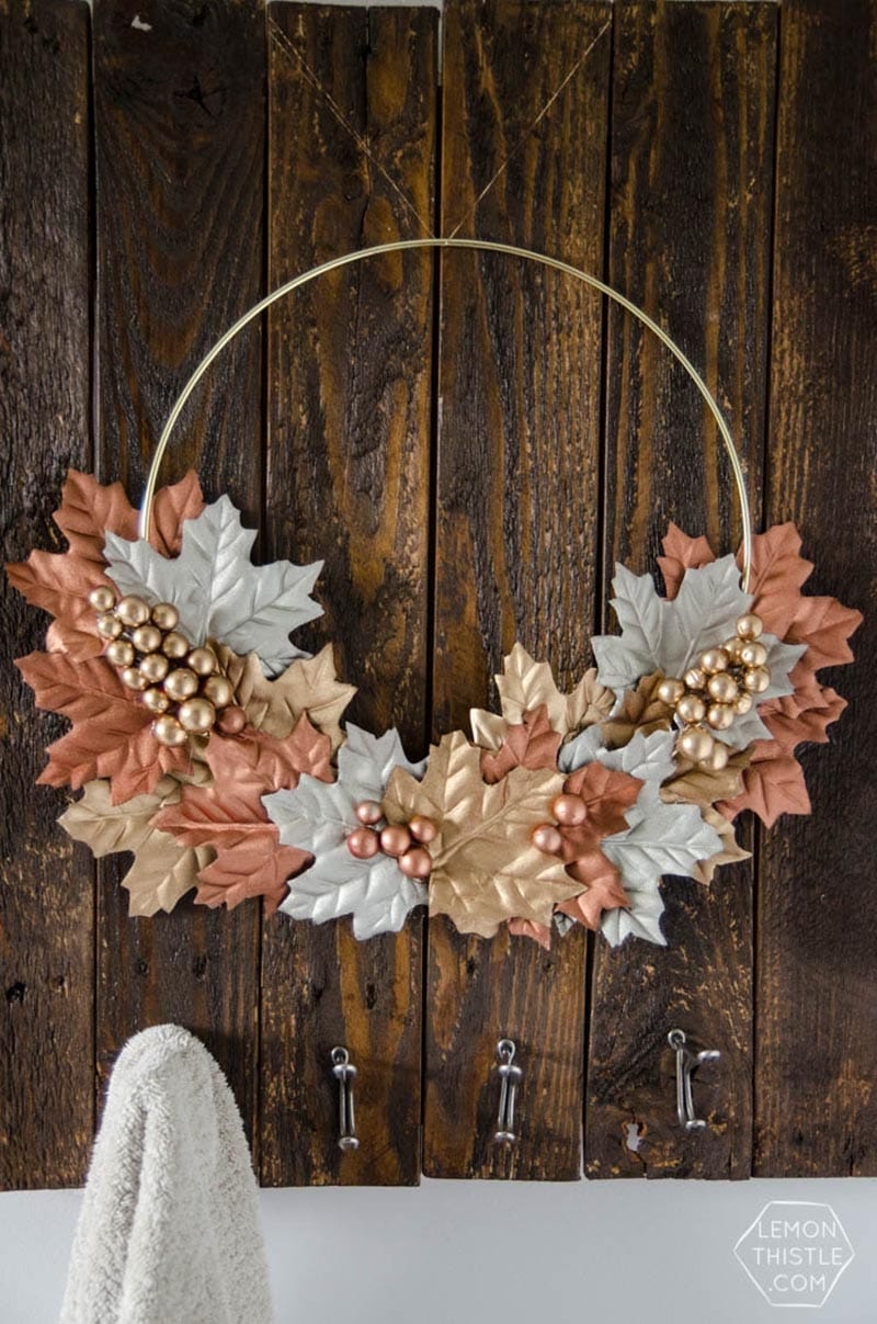 Diy Dollar Store Fall Wreaths You Will Adore The Cottage Market
