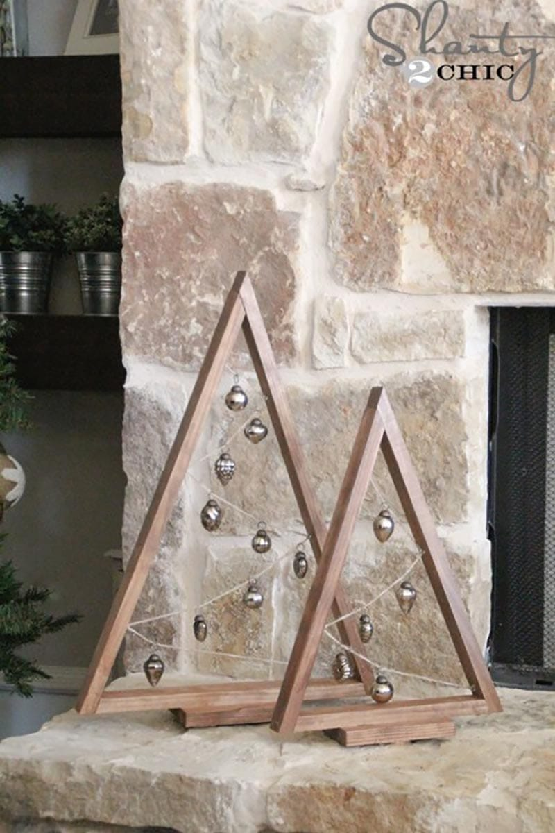Fabulous Farmhouse Diy Wooden Christmas Tree Projects The Cottage Market