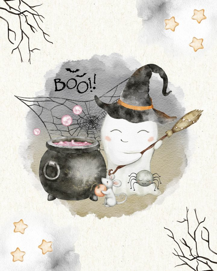 Es ist Zeit für Halloween zu dekorieren und heute haben wir die tollsten kostenlosen druckbaren süßen Halloween-Vignetten und ich meine SÜß!!!